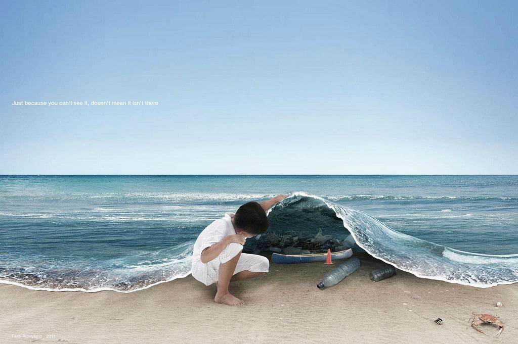An Ocean of Plastic!
