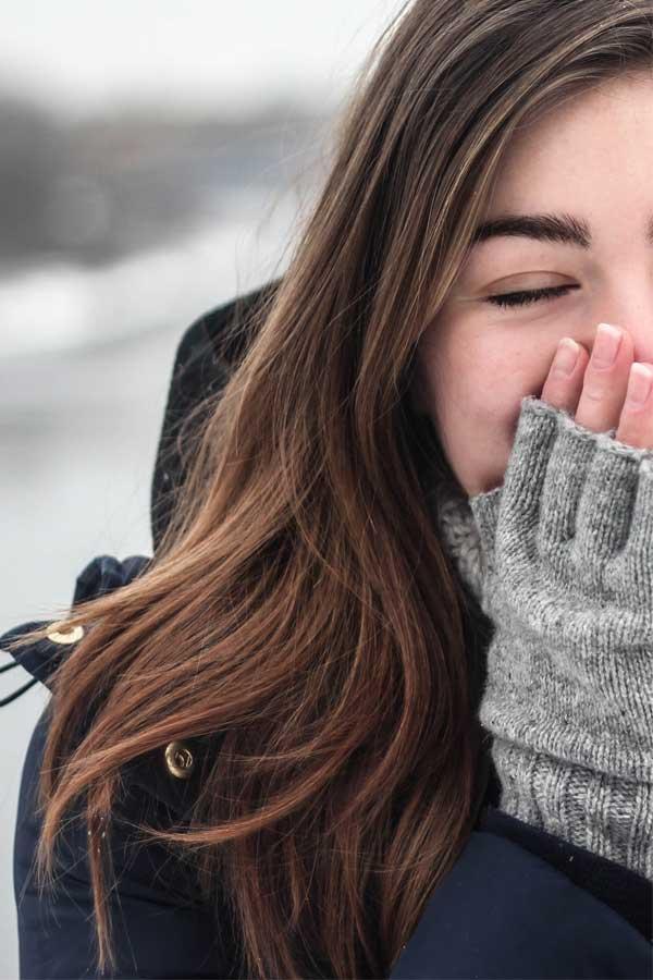routine beauté hiver