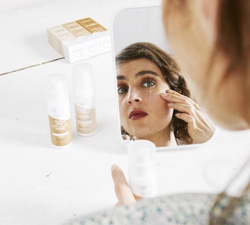 Crème solaire visage teintée SPF30 - Les Laboratoires de Biarritz